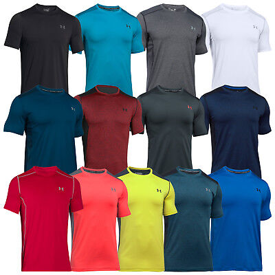 Under Armour Mens Raid Short Sleeve T-Shirt - New Training Running Gym Top 2017