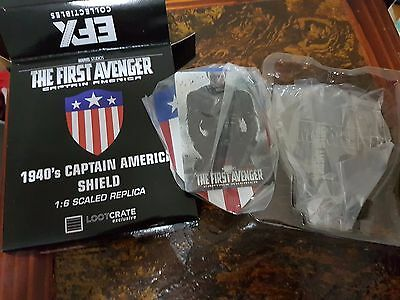 The First Avenger Captain America 1940's Shield Loot Crate