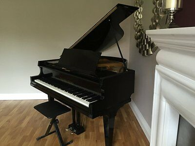 BLACK HIGH GLOSS BABY GRAND PIANO - final offer price for last 20 hours
