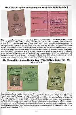 Wartime Identity Cards in Britain An Illustrated Reference Guide Home Front