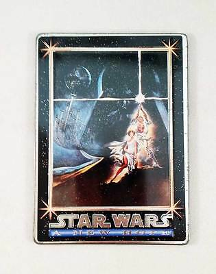 * 1994 Star Wars Metal Promo Card * A New Hope * P1 * Exc Cond * Free Postage *