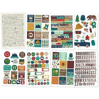 Simple Stories ~ CABIN FEVER ~ Stickers