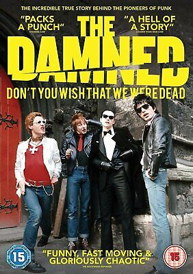 The Damned: Don't You Wish That We Were Dead (DVD) The Damned, Lemmy