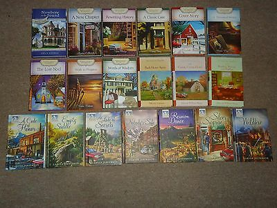 Lot 19 HC Guideposts Novels Silver Peak Mary's Bookshop Grace Chapel Inn Blue