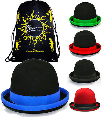 MANIPULATION HAT For Juggling + Travel Bag Tumbler Hats To Juggle -Various Sizes