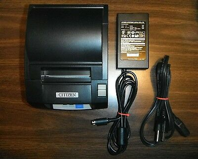 Citizen Ct-S310A Usb Black Pos Thermal Receipt Printer