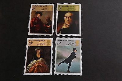 GB MNH STAMP SET 1973 British Paintings SG 931-934 10% OFF FOR ANY 5+