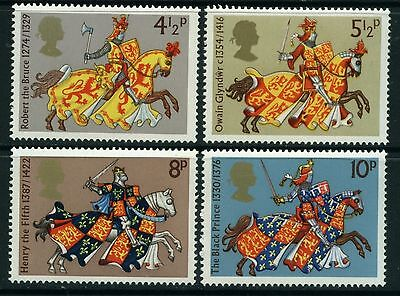 GB MNH STAMP SET 1974 Medieval Warriors SG 958-961 10% OFF FOR ANY 5+