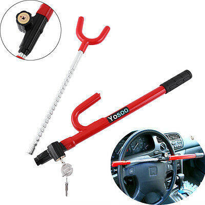 Steering Wheel Lock Anti Theft Security System Car Truck SUV Auto Club Sale NEW