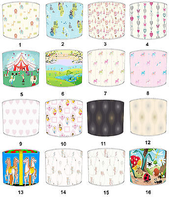 Carousel Lampshades Ideal To Match Carousel Duvets & Carousel Wallpaper Hangings