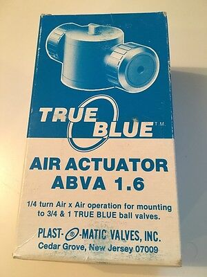 TRUE BLUE Air Actuator ABVA 1.6 NEW free shipping