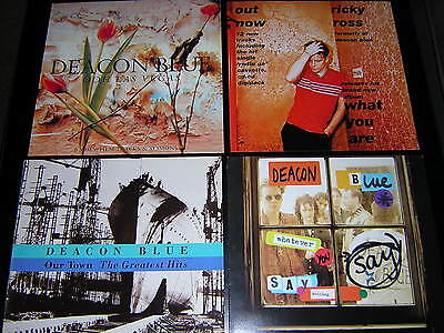 "3 Original Deacon Blue Sleeves + 1 Promotional 12""x12"" Card"