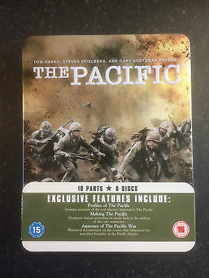 New DVD - The Pacific Complete Series Tin Box Set - Region 2