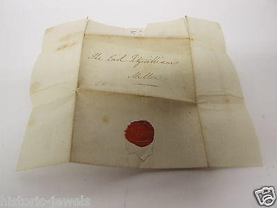 Earl Fitzwilliam of Wentworth letter to 1839-1840