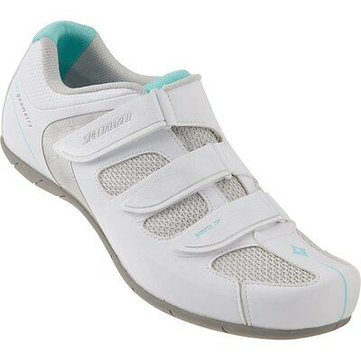 Specialized Spirita RBX Shoe - White / Teal - Size 38