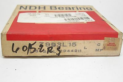 New in Sealed Box NDH New Departure Z993L15 Bearing