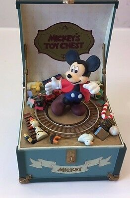 Disney Mickey's Toy Chest Schmid Music Box