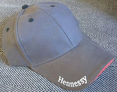 Hennessy Cognac / 1980's - 1990's Promotional Baseball Cap / Hat New