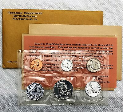 1963 Mint Proof Set w/ original government packaging
