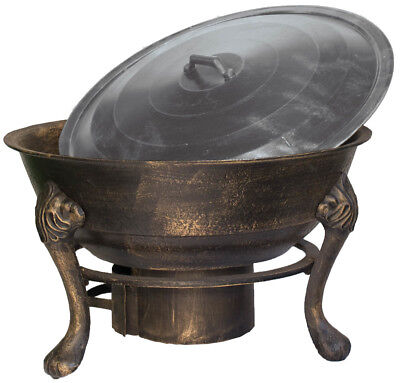 NEW Vesuvius Firepit BBQ with Lid