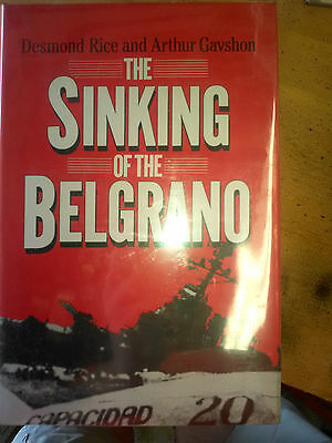 book: The Sinking of the Belgrano, by Rice and Gavshon, HC