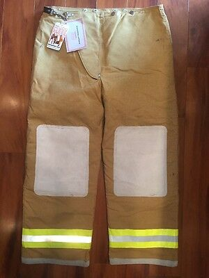 Globe Firefighter Bunker TurnOut Pants 42x30 Vintage 1991 NEW W TAGS Collectible