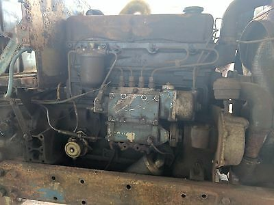 4 Cylinder Engine - Removed From Fordson Major C/w 30 Days Warranty