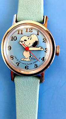Vintage 1959 United Features Syndicate Snoopy Kids Watch. By Charles Schulz