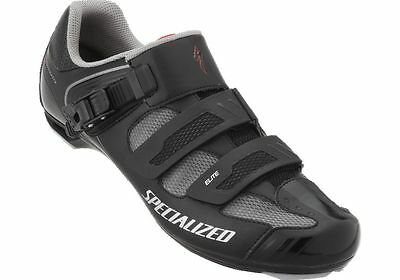 Specialized Elite Road Shoe - Black / Red - Size 43.5