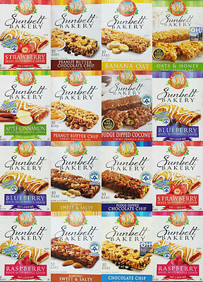 Sunbelt Bakery Whole Grain Fruit Bars or Chewy Granola Bars YOU PICK FLAVOR New