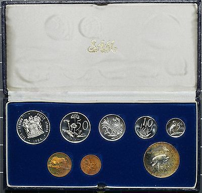 1984 South Africa Proof 8 Coin Set in Original Box
