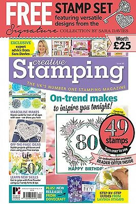 Creative Stamping Magazine Issue 44 with The Timeless Moments Stamp Collection
