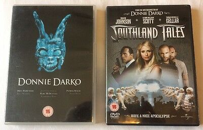 2x Richard Kelly Movies DVD Bundle : Donnie Darko + Southland Tales FREE UK POST