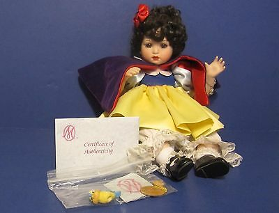 "MARIE OSMOND ☆ Disney 65th Anniversary Baby Snow White ☆ LE 0528/3600 ☆ 14"" Doll"