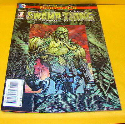 Futures End Swamp Thing #1 (DC Comics) 3d Lenticular Cover