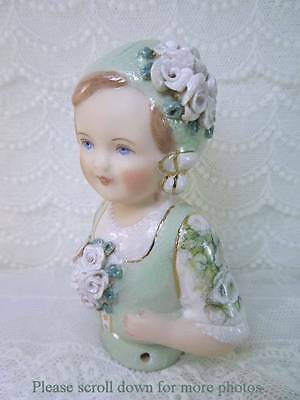 Porcelain Half Doll - Pincushion - Hollie