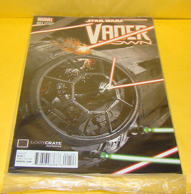 Star Wars Vader Down #1 Loot Crate Variant New Sealed (Marvel)