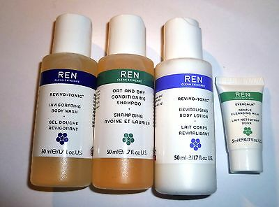 Ren travel size toiletries - 4 items in box