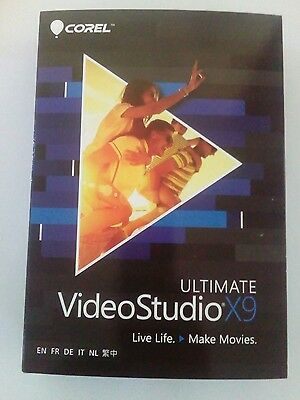 Brand New DVD Version Corel VideoStudio X9 Ultimate (Boxed) Free Express postage
