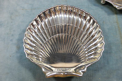 """GORHAM STERLING SILVER 42677 SHELL FOOTED DISH J. E. CALDWELL & CO 6"""" W 156.5g"""