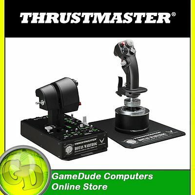 THRUSTMASTER HOTAS WARTHOG Replica Joystick + Dual Throttle Metal Casing [3]