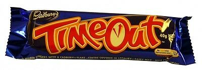 Cadbury Time Out Bars (48 x 40g bars in a Display)
