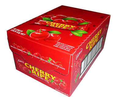 Cadbury Cherry Ripe (48 x 52g bars in a display unit)