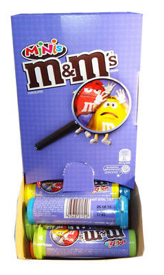 M&M Minis Tubes (24 x 35g Tubes in a Display)