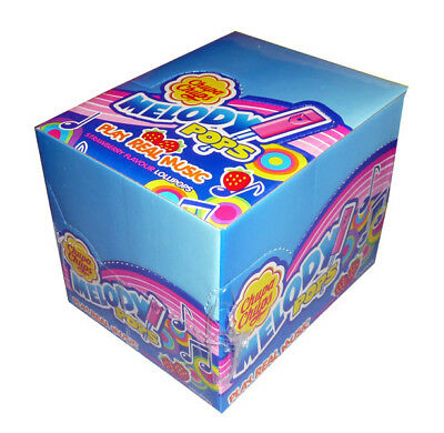 Chupa Chup Melody Pops (48 Melody Pops in a Display)