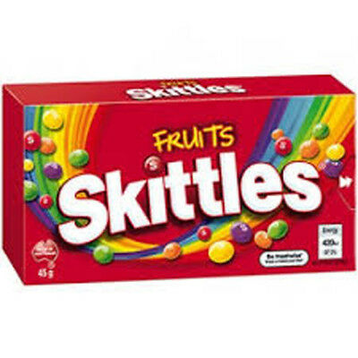 Skittles Fruits (45g x 18 boxes in a Display Unit)