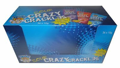 TNT Sour Crazy Crackles (10g x 36 sachet display box)