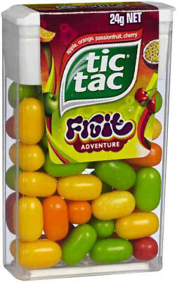 Tic Tac - Fruit Adventure (24g x 24 pack)