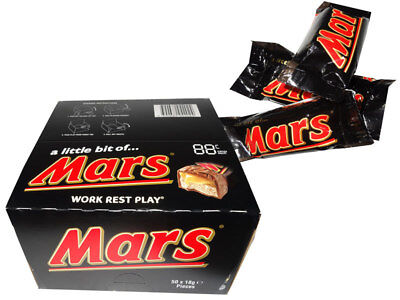A Little Bit of Mars Bars (50 x 18g bars)