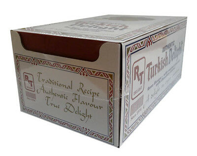 Turkish Delight - Rose Flavour with Almond coated in Milk Chocolate (55g x 24...
